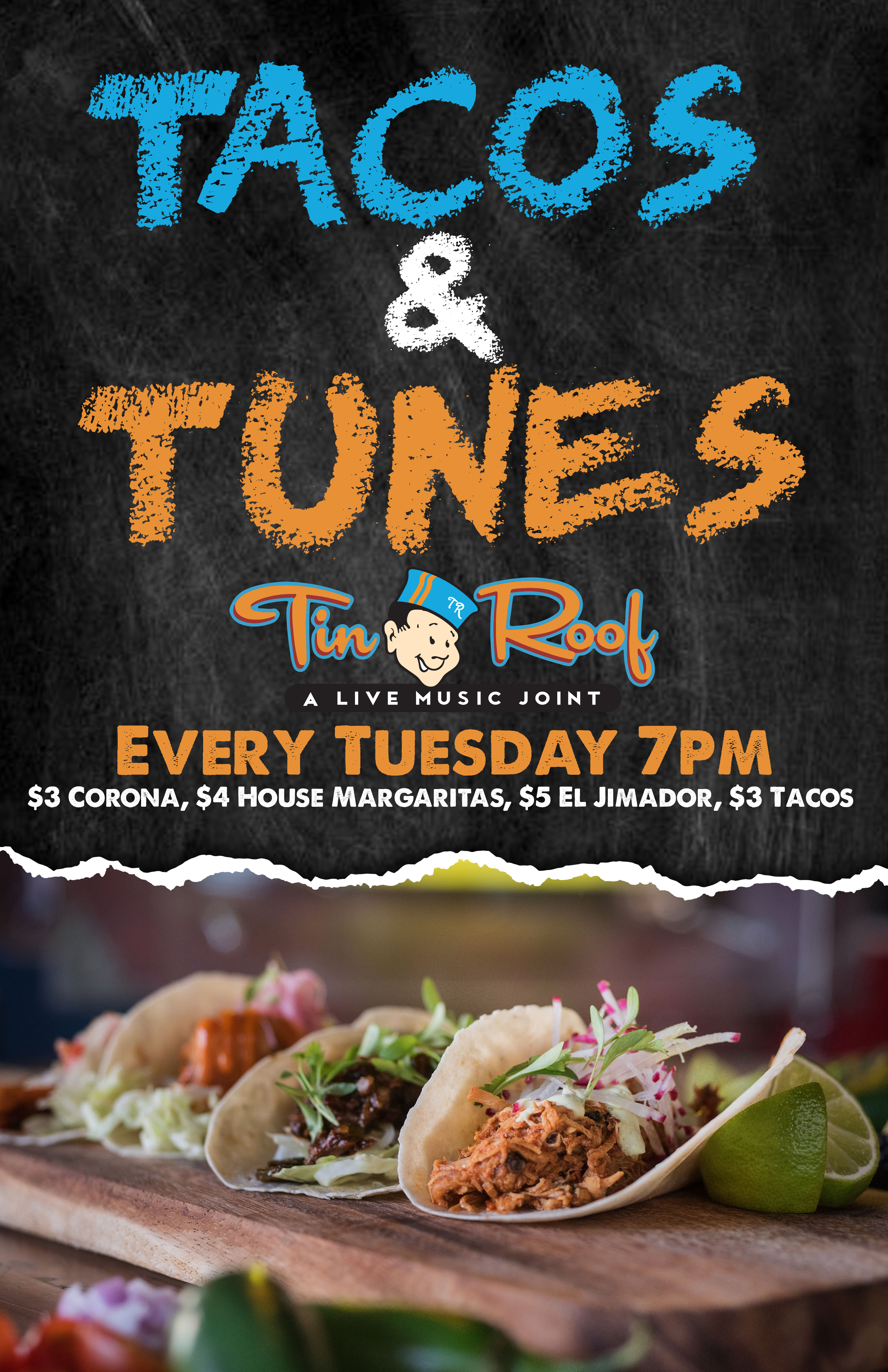 Tacos and Tunes w/ Antwan Bailey